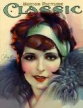 Clara Bow on the cover of Motion Picture Classic (United States) - July 1927