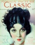 Olive Borden on the cover of Motion Picture Classic (United States) - November 1929