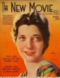 Kay Francis on the cover of New Movie (United States) - April 1931