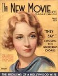 Marlene Dietrich on the cover of New Movie (United States) - May 1931