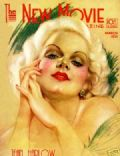 Jean Harlow on the cover of New Movie (United States) - March 1932