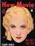 Marlene Dietrich on the cover of New Movie (United States) - June 1934