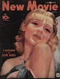 Anna Sten on the cover of New Movie (United States) - July 1934