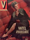 Angela Lansbury on the cover of V (France) - February 1949