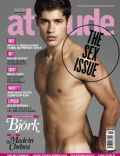 Greg Remmey on the cover of Attitude (United Kingdom) - October 2011