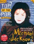 Michael Jackson on the cover of Top Of The Pops (United Kingdom) - July 1995