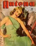 Rita Hayworth on the cover of Antena (Argentina) - February 1948