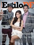 Arath de la Torre, Marcelo Córdoba, Marisol González on the cover of Estilo Df (Mexico) - October 2012