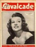 Rita Hayworth on the cover of Cavalcade (United Kingdom) - February 1949