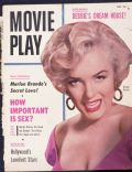 Marilyn Monroe on the cover of Movie Play (United States) - November 1955