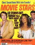 Burt Reynolds, Burt Reynolds and Farrah Fawcett, Farrah Fawcett, Farrah Fawcett and Lee Majors, Lee Majors on the cover of Movie Stars (United States) - June 1977