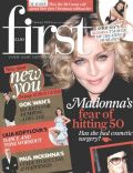 Madonna on the cover of First (United Kingdom) - January 2008