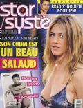 Jennifer Aniston, Jennifer Aniston and Paul Sculfor, Paul Sculfor on the cover of Star Systeme (Canada) - June 2007