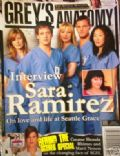 Ellen Pompeo, Justin Chambers, Katherine Heigl, Katherine Heigl and Justin Chambers, Katherine Heigl and T.R. Knight, Sandra Oh, T.R. Knight on the cover of Greys Anatomy Magazine (United States) - November 2007