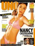 Nancy Castiglione on the cover of Uno (Philippines) - August 2005