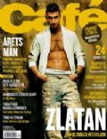 Zlatan Ibrahimovic on the cover of Cafe (Sweden) - December 2003