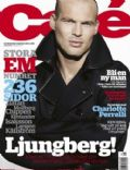 Fredrik Ljungberg on the cover of Cafe (Sweden) - June 2008