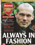 Fredrik Ljungberg on the cover of Arsenal Magazine (United Kingdom) - May 2006