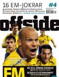 Fredrik Ljungberg on the cover of Offside (Sweden) - August 2008