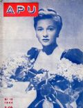 Joan Fontaine on the cover of Apu (Finland) - 1944