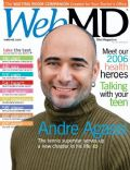 Andre Agassi on the cover of Webmd (United States) - November 2006