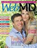 Dennis Quaid, Dennis Quaid and Kimberly Buffington, Kimberly Buffington on the cover of Webmd (United States) - September 2008