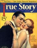 Clark Gable on the cover of True Story (United States) - August 1933