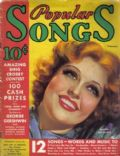Jeanette MacDonald on the cover of Popular Songs (United States) - February 1935