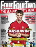 Andrei Arshavin on the cover of Four Four Two (United Kingdom) - September 2009