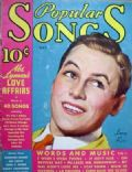 Lanny Ross on the cover of Popular Songs (United States) - May 1935