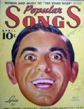 Eddie Cantor on the cover of Popular Songs (United States) - April 1937