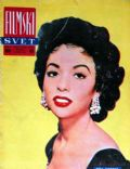 Rita Moreno on the cover of Filmski Svet (Yugoslavia Serbia and Montenegro) - 1956
