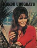 Claudia Cardinale on the cover of Mundo Uruguayo (Uruguay) - July 1966