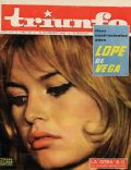 Brigitte Bardot on the cover of Triunfo (Italy) - November 1962