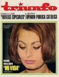 Sophia Loren on the cover of Triunfo (Spain) - March 1966
