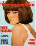 Claudia Cardinale on the cover of Triunfo (Spain) - July 1966