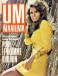 Raquel Welch on the cover of Um Maailma (Finland) - January 1968