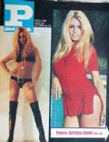 Brigitte Bardot on the cover of Plavi Vjesnik (Yugoslavia Serbia and Montenegro) - January 1969