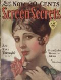 Billie Dove on the cover of Screen Secrets (United States) - May 1928