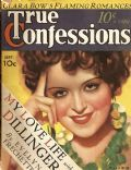 Clara Bow on the cover of True Confessions (United States) - September 1934