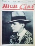 Douglas Fairbanks Jr. on the cover of Mon Cine (France) - June 1926