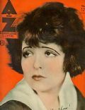Clara Bow on the cover of Az (Belgium) - June 1934