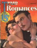 Dorothy Sebastian, Nils Asther on the cover of True Romances (United States) - November 1932