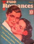 Clark Gable on the cover of True Romances (United States) - February 1936