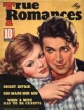 James Stewart on the cover of True Romances (United States) - May 1937