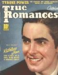 Tyrone Power on the cover of True Romances (United States) - October 1939