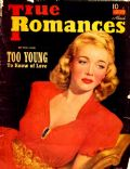 Carole Landis on the cover of True Romances (United States) - March 1941