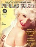 Jean Harlow on the cover of Popular Screen (United States) - September 1934