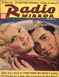 Tyrone Power on the cover of Radio Mirror (United States) - November 1937