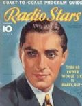 Tyrone Power on the cover of Radio Stars (United States) - November 1937